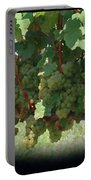 Green Grapes On The Vine 16 Portable Battery Charger