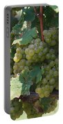 Green Grapes On The Vine 18 Portable Battery Charger