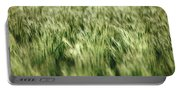Green Growing Wheat Portable Battery Charger