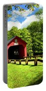 Green River Covered Bridge Portable Battery Charger