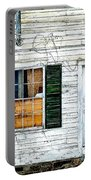 Green Shutters Portable Battery Charger by Kendall McKernon