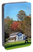 Gregg Cable House In Cades Cove Historic Area Of The Smoky Mountains Portable Battery Charger