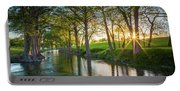 Guadalupe River Sunset Portable Battery Charger