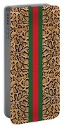 Gucci Leopard Print-1 Portable Battery Charger