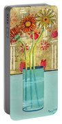 Indian Hand Painted Palace Wall Portable Battery Charger