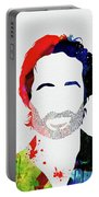 Hank Moody Watercolor Portable Battery Charger