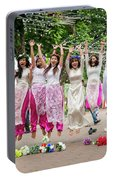 Hanoi Jumping Girls Portable Battery Charger
