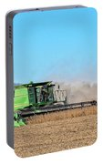 Harvesting Soybeans Portable Battery Charger