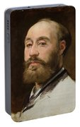 Head Of Jean Baptiste Faure        Portable Battery Charger