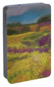 Heather Meadow Portable Battery Charger
