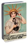 Hello This Is Liberty Speaking 1918 Portable Battery Charger