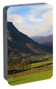 Helm Crag And Wythburn Fells Above Grasmere In The Lake District Portable Battery Charger
