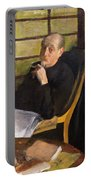 Henri Degas And His Niece Lucie Degas Portable Battery Charger
