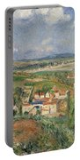 Hermitage In Summer, Pontoise, 1877 Portable Battery Charger