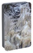 High Falls, Smaller Waterfall Portable Battery Charger