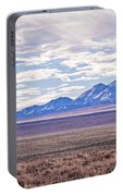 High Plains And Majestic Mountains Portable Battery Charger