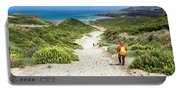 Hiking To Sandfly Bay New Zealand Portable Battery Charger