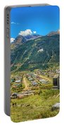 Hillside Cemetery Of Silverton Colorado Portable Battery Charger