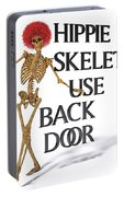 Hippie Skeletons Use Back Door Portable Battery Charger