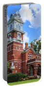 Historic Gwinnett County Courthouse Portable Battery Charger by Doug Camara