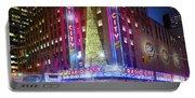 Holiday Season At Radio City Music Hall  Portable Battery Charger