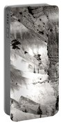 Hoodoo's Black White Utah  Portable Battery Charger