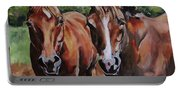 Horse Art  Portable Battery Charger