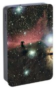 Horsehead And Flame Nebulae Portable Battery Charger