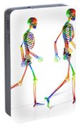 Human Skeleton Pair Portable Battery Charger