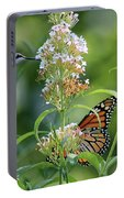 Hummingbird And Monarch Portable Battery Charger