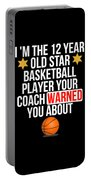 I Am The 12 Year Old Star Basketball Player Your Coach Warned You About Portable Battery Charger