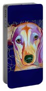 I Should Have Been Jackson Pollock's Dog Portable Battery Charger