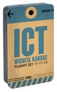 Ict Wichita Luggage Tag I Portable Battery Charger
