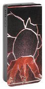 Image 23 I Was Born In A Mine Woodcut Portable Battery Charger