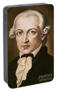 Immanuel Kant, Philosopher, Born In Konigsberg, Germany Portable Battery Charger