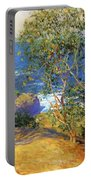 Indian Tobacco Trees La Jolla 1916 Portable Battery Charger