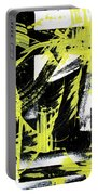 Industrial Abstract Painting II Portable Battery Charger