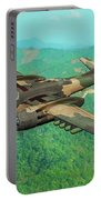 Invader Over Vietnam - Oil Portable Battery Charger