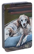 Irish Red And White Setters - Archer Dogs Portable Battery Charger