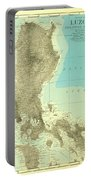 Island Of Luzon - Old Cartographic Map - Antique Maps Portable Battery Charger