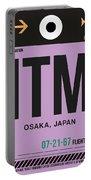 Itm Osaka Luggage Tag I Portable Battery Charger