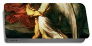 Jacob Wrestling With The Angel, 1865  Portable Battery Charger