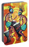 Jammin Djembes Portable Battery Charger