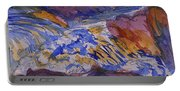 Jay Cooke Favorite Spot In Purple And Tan Portable Battery Charger