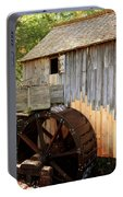 John Cable Mill In Cades Cove Historic Area In Smoky Mountains Portable Battery Charger