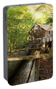 John Cable Mill In Cades Cove Historic Area In The Smoky Mountains Portable Battery Charger