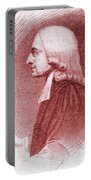 John Wesley, Anglican Minister And Christian Theologian Portable Battery Charger