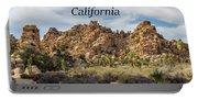 Joshua Tree National Park Box Canyon, California Portable Battery Charger