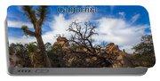 Joshua Tree National Park, California Box Canyon 02 Portable Battery Charger