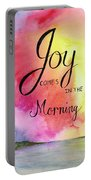 Joy Comes In The Morning Portable Battery Charger